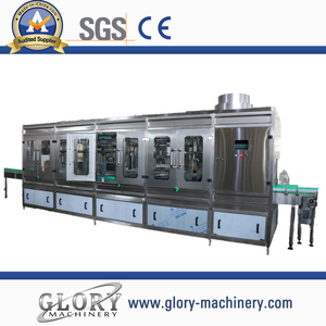 5L-600BPH water washing filling capping 3 in 1 machine
