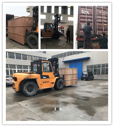 loading container for 5gallon mineral water filling production line