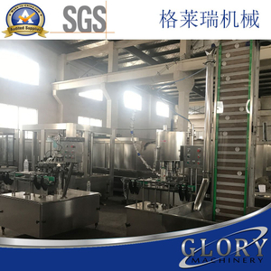 Automatic plastic bottle capping machine with 6heads