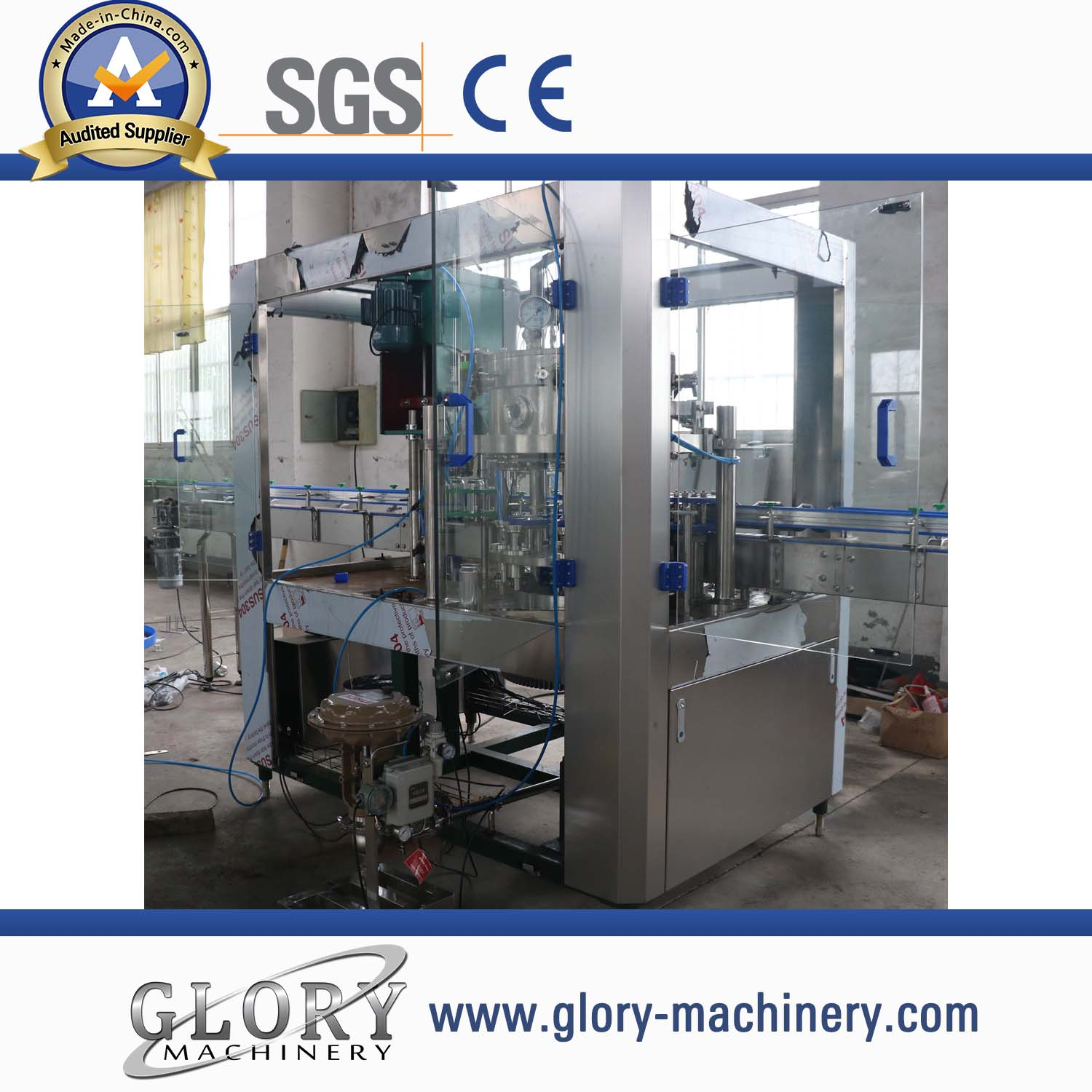 Beer Can Filling Sealing Machine