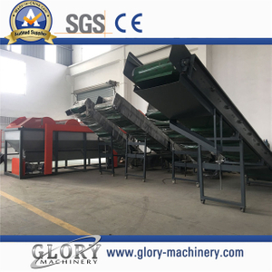 Conveyor Belt System for Plastic Recycled Machine