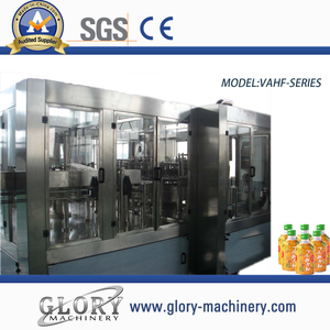 3000bph hot juice bottle filling machine