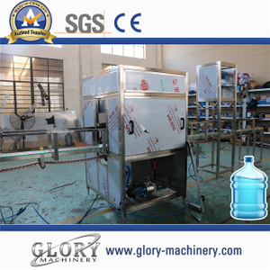 automatic 120bph 5gallon mineral water filling production line