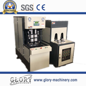 Semi automatic PET jar bottle blowing molding machine