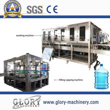 1200BPH 5Gallon mineral water filling production line