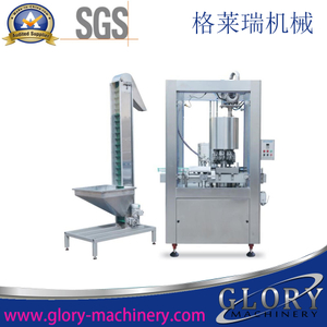 Full Automatic Rotary Aluminum Screw Capping Machine