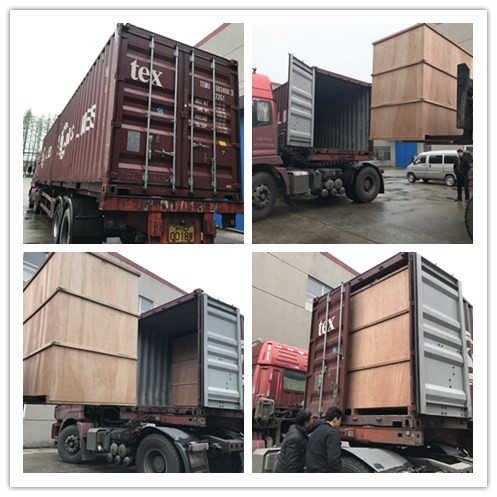 Loading container to Viename for water filling line