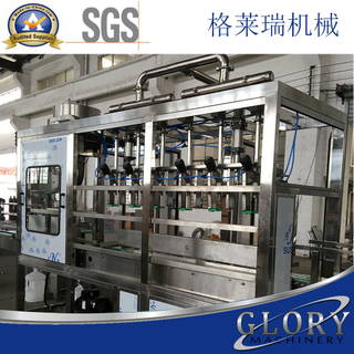 15-18L bottles pure water filling line with high pressure washer