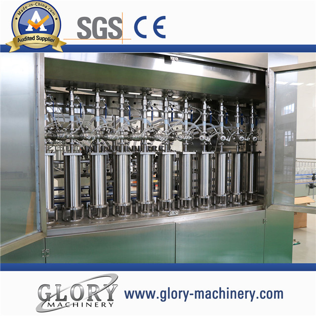5L-2000BPH edible oil filling line