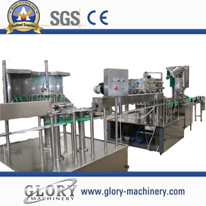 12/18/1 Auotmatic split carbonated drink filling production line