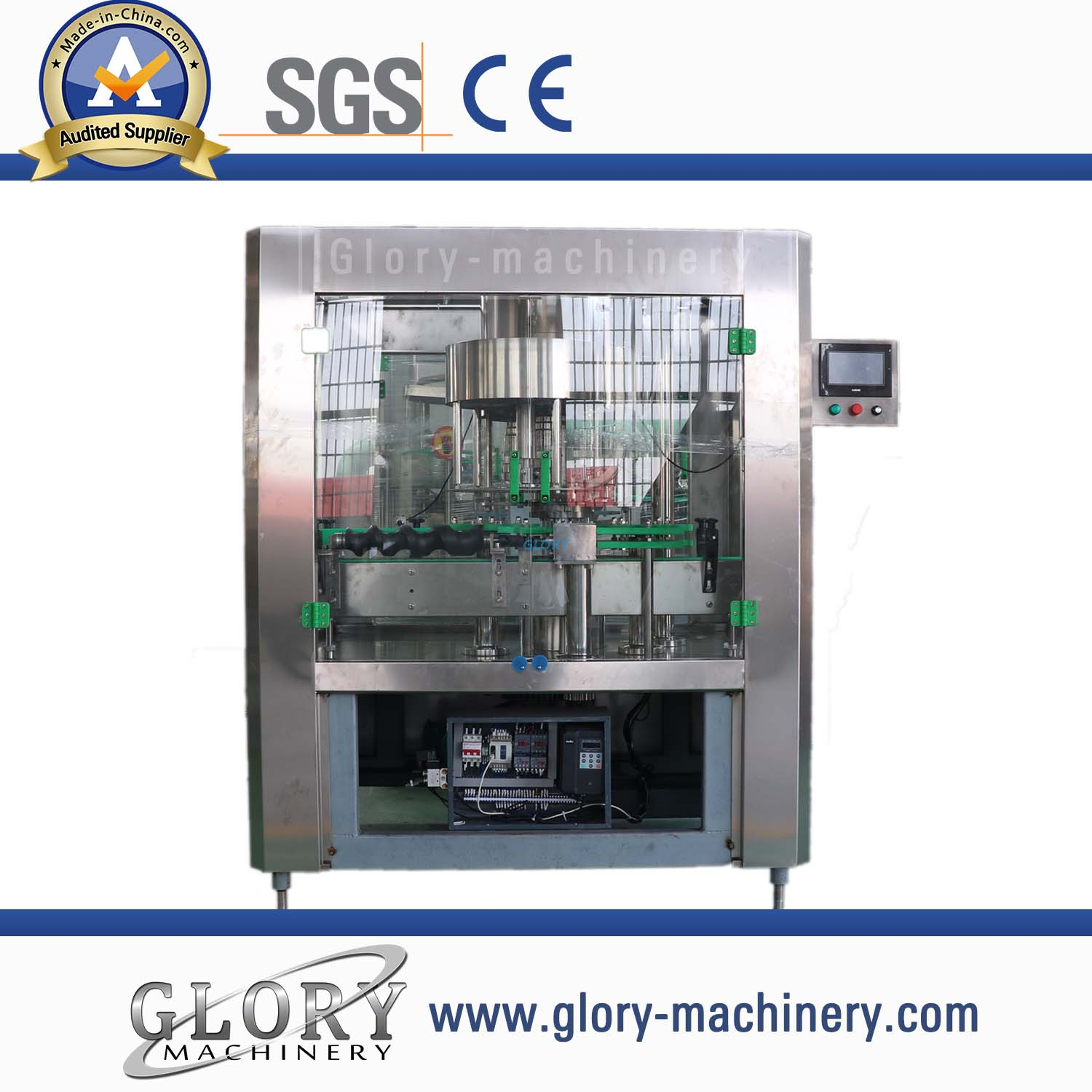 Automatic 10000bph capping sealing machine