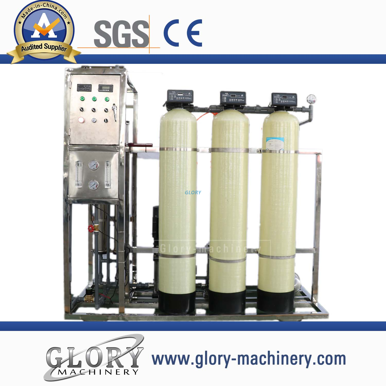 500L/H drinking water one stage ro